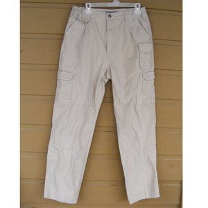 5.11 TACTICAL Pants, 34, Khaki, Pockets